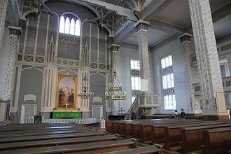Kerimäki Church - Inside the church