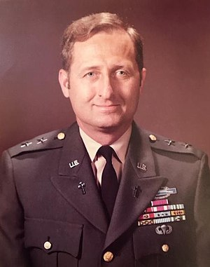 Kermit D. Johnson - CH (MG) Kermit Douglas Johnson 15th Chief of Chaplains of the United States Army