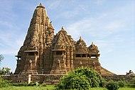Khajuraho - Kandariya Mahadeo -temppeli.jpg