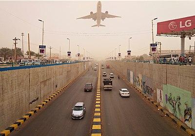 Khartoum, Africa road tunnel.jpg