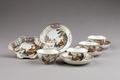 Kinesisk teservis i porslin - Hallwylska museet - 95821.tif