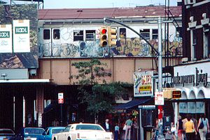 Kings Highway (BMT Brighton Line) - Image: Kings Hwy East 16th