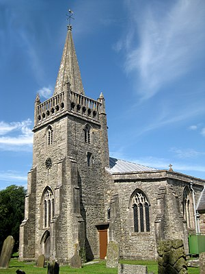 Grade I listed buildings in North Somerset - Image: Kingston Seymour All Saints church