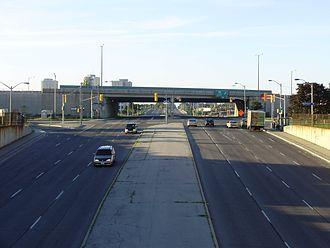Kipling Avenue - Kipling Avenue looking south to Highway 409