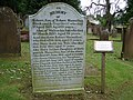 Kirkpatrick Macmillan Grave, Keir Mill - geograph.org.uk - 870768.jpg