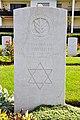 Klagenfurt Waidmannsdorf Lilienthalstrasse War Cemetery grave of Private Hirshler 21092011 392.jpg