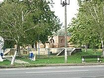 Klek, construction site of the Orthodox church.jpg