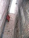 klooster 3 detail bij gevel, deventer