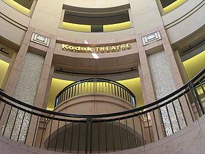 Kodak Theatre.
