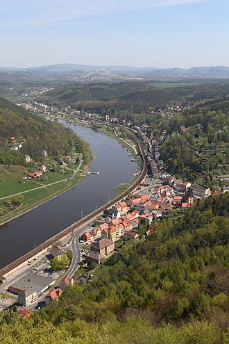 Königstein, Saxony - Königstein in 2007