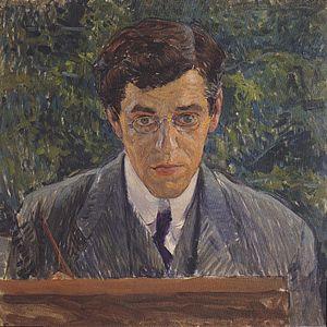 Carl Otto Czeschka - Koloman Moser (1907), Portrait of Carl Otto Czeschka