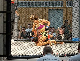 Komal Rao at YBN9 MMA, Germany