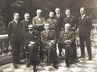 Blue Army (Poland) - Komitet Narodowy Polski (Polish National Committee) sanctioned by France and other Western Allies as a provisional Polish government in Paris, 1918