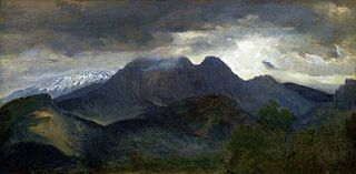 The Tatras - view of Giewont.