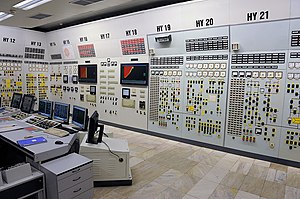 Nuclear power in Russia - Control room of a VVER-1000 in 2009, Kozloduy Unit 5