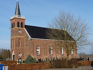 Kropswolde - Protestant Church in 2011