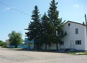 Krydor, Saskatchewan - Krydor's Main Street