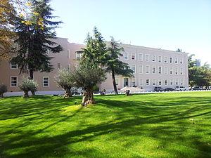 Prime Minister's Office (Albania) - Image: Kryeministria nga pas, Tirane