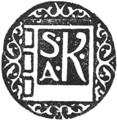 Księgarnia S. A. Krzyżanowskeigo - logo.png