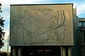 Kurt Lehmann Aussenrelief Industrie- und Handelskammer IHK Hannover Schiffgraben 49 Sitzungssaal über dem Eingang Dämmerung II.jpg