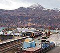 Kyle of Lochalsh station Platform 1, Ross and Cromarty - view south. Isle of Skye.jpg