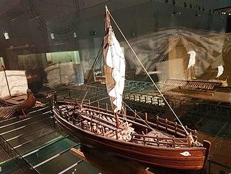 Kyrenia ship - Ship of Kyrenia (model), Thessaloniki Science Center and Technology Museum