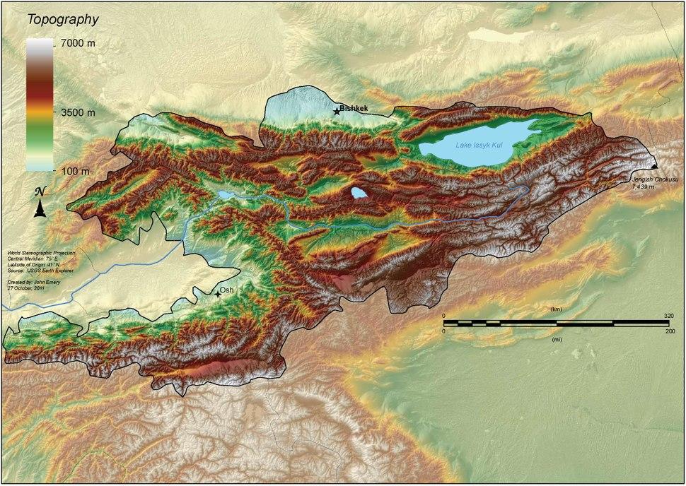 Kyrgyzstan topography.pdf