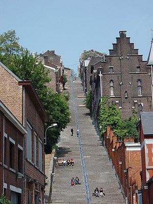 Treppe Montagne de Bueren