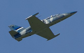 Aero L-39 Albatros - An Estonian L-39 in flight, 2007