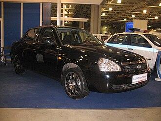 Lada Priora - Image: LADA 708 Premier