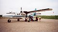 LANDED AT PORT HOPE REGIONAL AIRPORT 20TH JULY 2002 Port Hope Simpson Off The Beaten Path Llewelyn Pritchard.jpg
