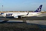 LOT, SP-LVB, Boeing 737 MAX 8 (44341898112).jpg