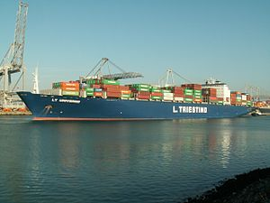 LT Universo p3, at the Amazone harbour, Port of Rotterdam, Holland 14-Jan-2006.jpg