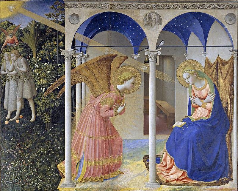 La Anunciación, de Fra Angelico.jpg