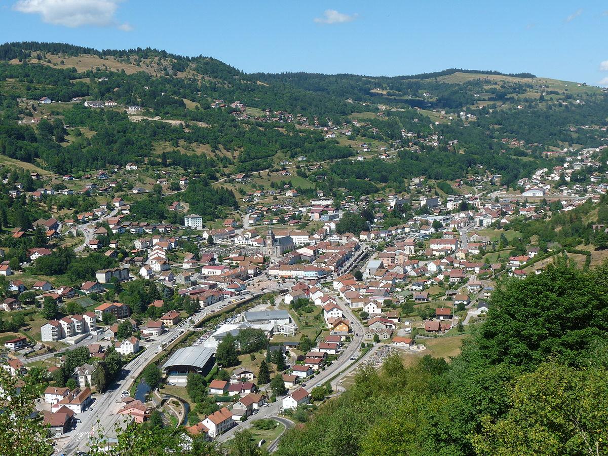 La bresse vosges wikip dia for Vosges code postal