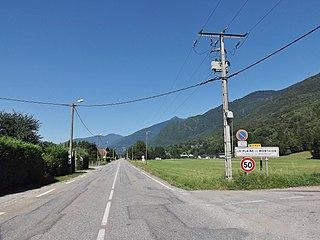 Monthion Commune in Auvergne-Rhône-Alpes, France