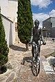 La ciclista de Antonio Campillo en Ceuti.jpg
