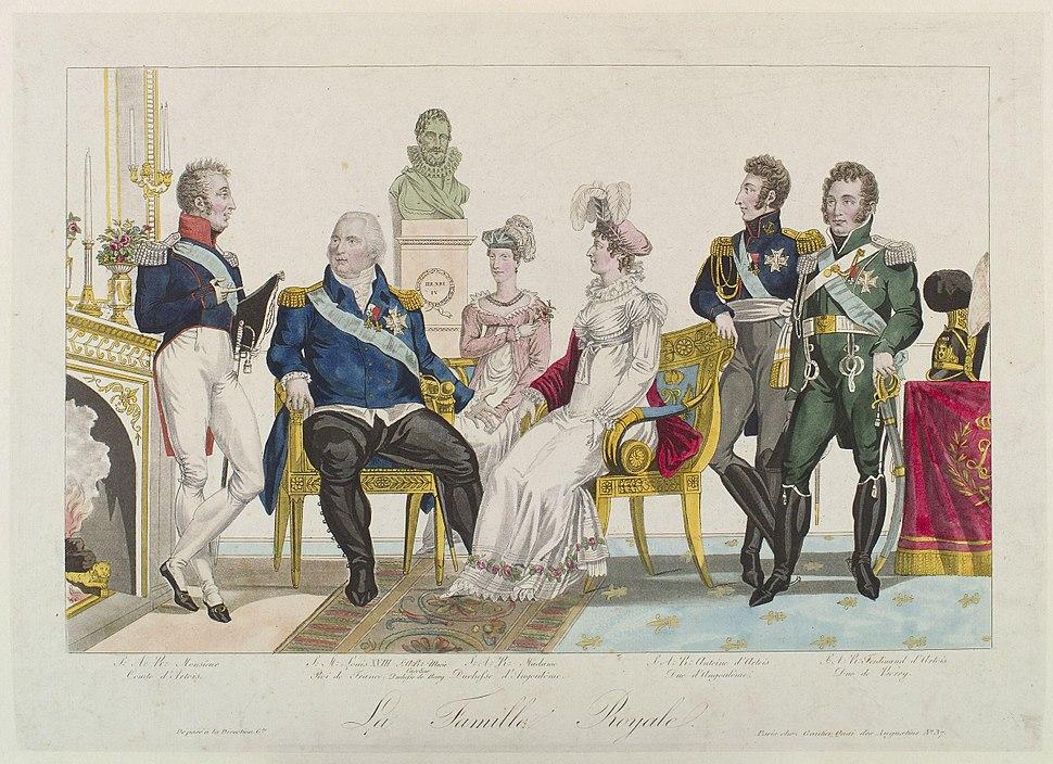 La famille royale by Gautier