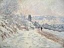 La route de Vétheuil, effet de neige by Claude Monet.jpg