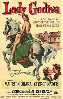 <i>Lady Godiva of Coventry</i> 1955 film by Arthur Lubin