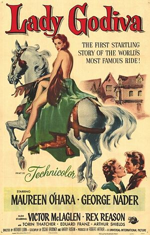 Lady Godiva of Coventry - Theatrical release poster by Reynold Brown