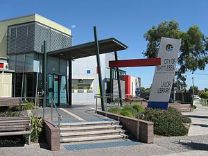 Lalor, Victoria - Lalor Library in May Road
