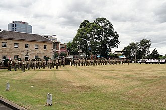 1st/15th Royal New South Wales Lancers - Image: Lancers Parade 2