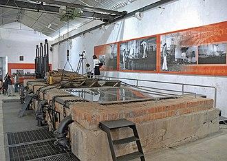 Seixal - A view inside a former cork factory in Seixal