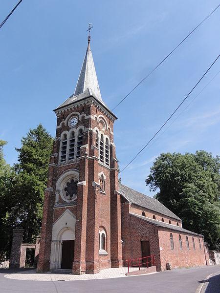 Landifay-et-Bertaignemont (Aisne) église