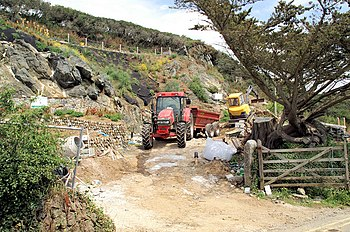 English: Landscaping, Mullion Cove Landscaping...