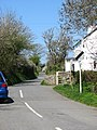 Lane leading north-eastwards from the centre of Rhydwyn - geograph.org.uk - 1268268.jpg
