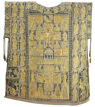 Sakkos - Sakkos of Photius, Metropolitan of Moscow, ca. 1417