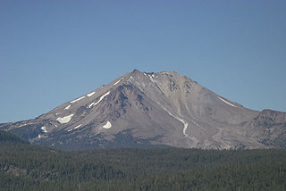 Lassen Peak Californian stratovolcano in the Cascade Range