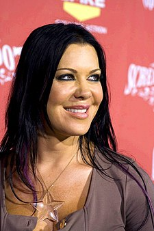 Chyna v roce 2007 na Scream Awards.
